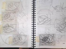 winters sketch