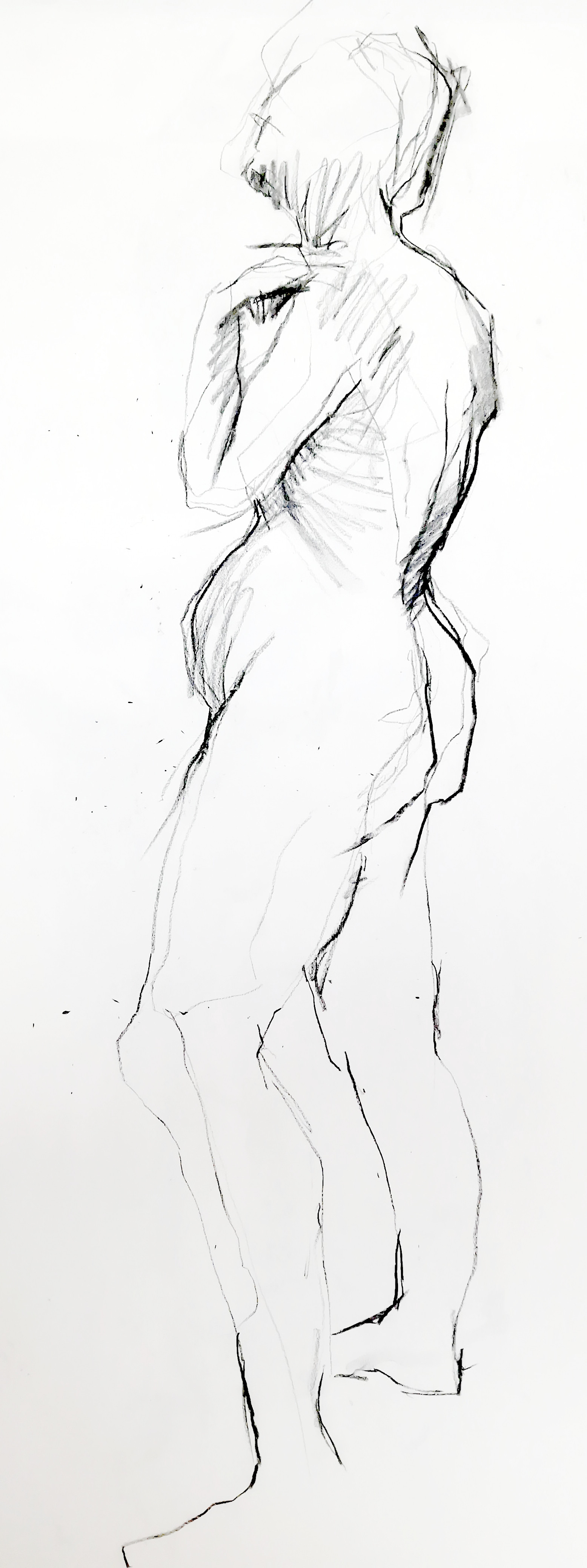 Black And White Art Life Drawing